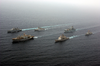 The Fleet Of Multinational Ships Involved With Exercise Sea Cutlass Sail In Formation During The Last Day Of The Exercise Image