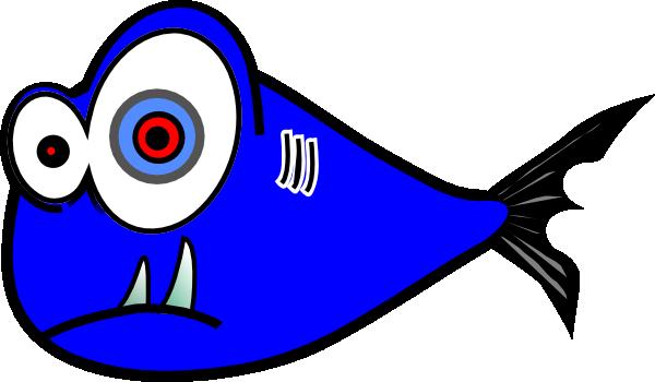 blue fish black test 3 clip art at clker com vector clip art rh clker com Electric Bolt Clip Art Electric Car Clip Art