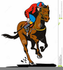 Night At The Races Clipart Image