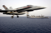 An F/a-18 Hornet Launches From The Flight Deck Aboard Uss Harry S. Truman (cvn 75) Image