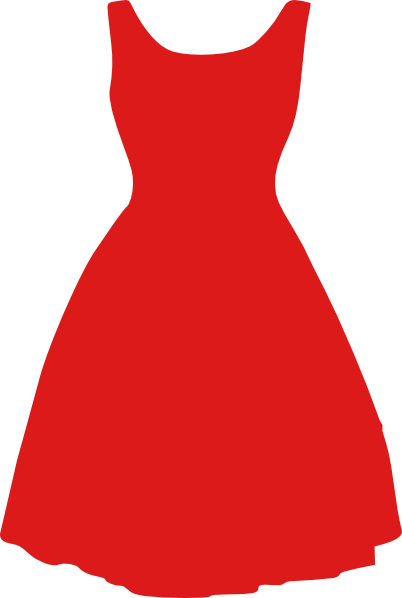 Red Art Dress