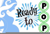 Ready To Pop Pregnant Clipart Image