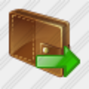 Icon Change Purse Export Image
