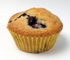 Blueberry Muffin Clipart Image