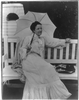 [mrs. Edith Kermit Carow Roosevelt, Three-quarters Length Portrait, Holding A Parasol While Sitting On A Bench] Image