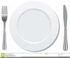 Free Clipart Plate Knife And Fork Image