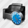 Icon Armchair Clock Image