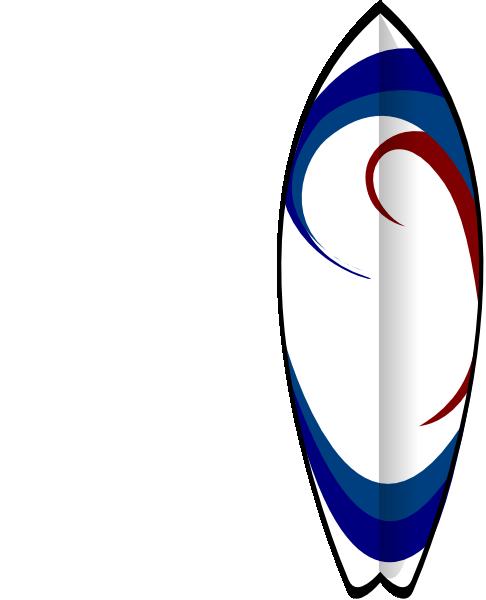 Surfboard Clip Art at Clker.com - 34.4KB