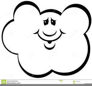 Himmel, Wolken und Regen Clipart-Bild gratis