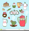 Cup Cakes Clipart Image