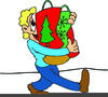 Animated Christmas Present Clipart Image
