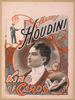 Harry Houdini, King Of Cards Image