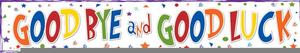 Goodbye Banner Clipart Image