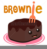 Chocolate Brownies Clipart Image