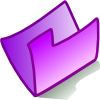 Purple Folder Clip Art