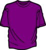 Purple T Shirt Image