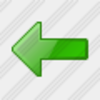 Icon Arrow Left Green Image