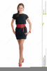 Slim Woman Clipart Image