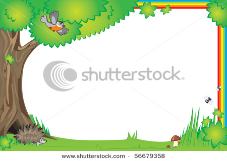 Stock Vector Frame For Design Children Photo And Elements | Free ...