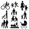 Stick People Family Image