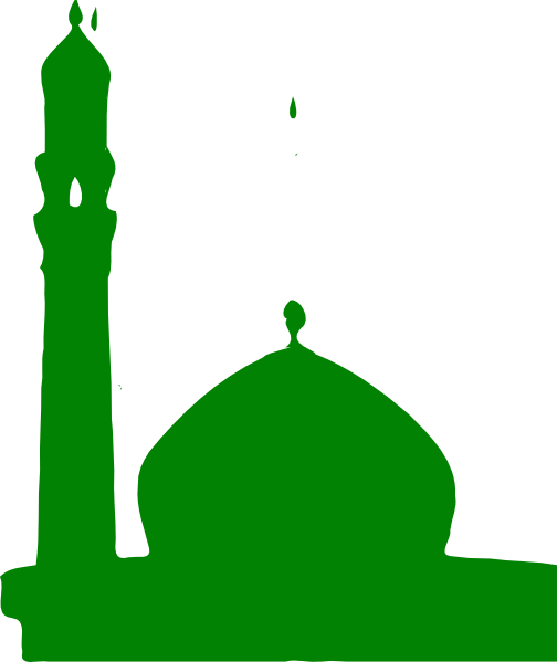 Green Masjid Clip Art at Clker.com - vector clip art online, royalty ...