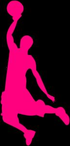 Pink Bball Basketball Clip Art at Clker.com - vector clip ...