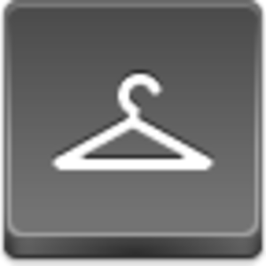 Free Grey Button Icons Hanger Image