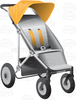 Clipart Of Strollers Image