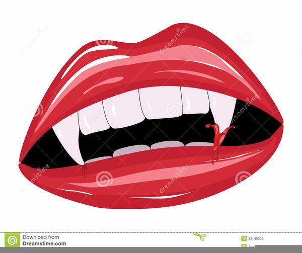 Vampire Fangs Clipart Free Images At Clker Com Vector Clip Art