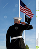 Clipart American Flag Marine Soldier Image