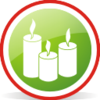 Candles Rounded Image