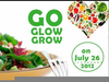 Go Grow Glow Clipart Image