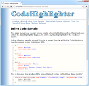 Codehighlighter Image