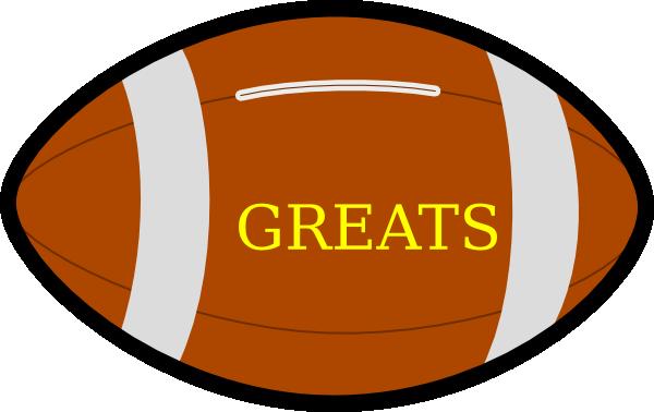 Football Clip Art at Clker.com - vector clip art online ...