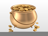 Clipart Pots Of Gold Image