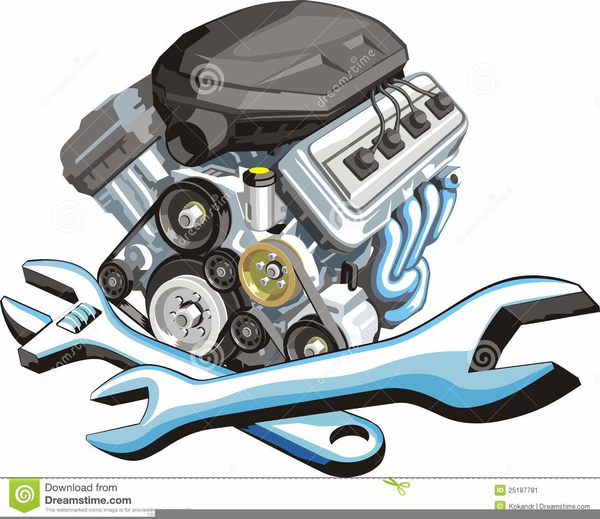 Auto Engine Clipart Free Images At Clker Com Vector Clip Art