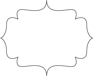 Black White Bracket Frame Image