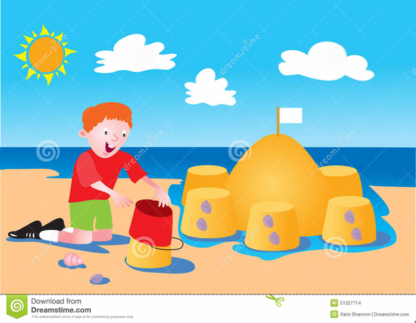 snowman at the beach clipart free images at clkercom