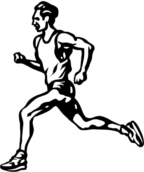 Animated Athlete Clipart   Free Images at Clker.com ...