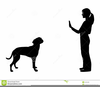 Dog Trainer Clipart Image