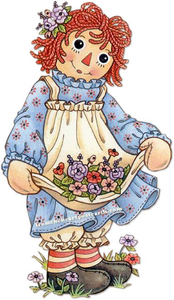Raggedy Ann And Andy Clipart Image