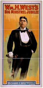 Wm. H. West S Big Minstrel Jubilee Image
