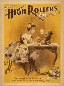 Devere S High Rollers Burlesque Co. Image