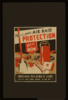 This Is Your Air Raid Protection Get It Now / Zj. Clip Art