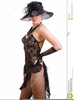 Clipart Of Black Women In Hats Image