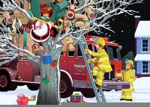 Christmas Fireman Clipart Free Images At Clker Com