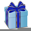 Free Gift Box Clipart Image