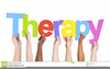 Group Therapist Clipart Image