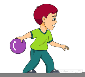 Bowling boy. Crown green clipart free