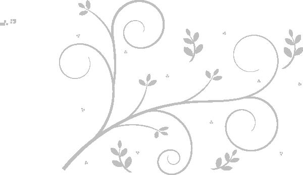 Wedding Vine Grey Clip Art at Clker vector clip art